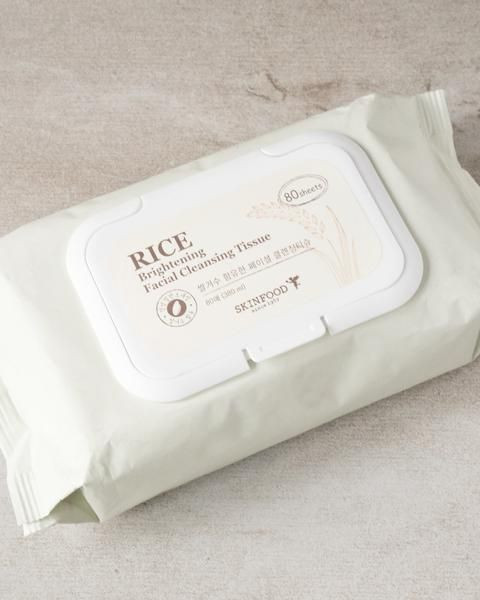 Rice Brightening Facial Cleansing Tissues by Skinfood #3