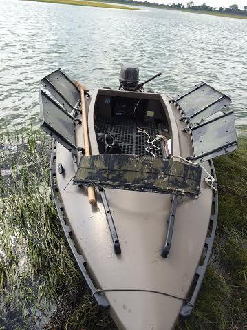 Our Duck Boss 13 Duck Hunting Boat Www Duckbossboats Com