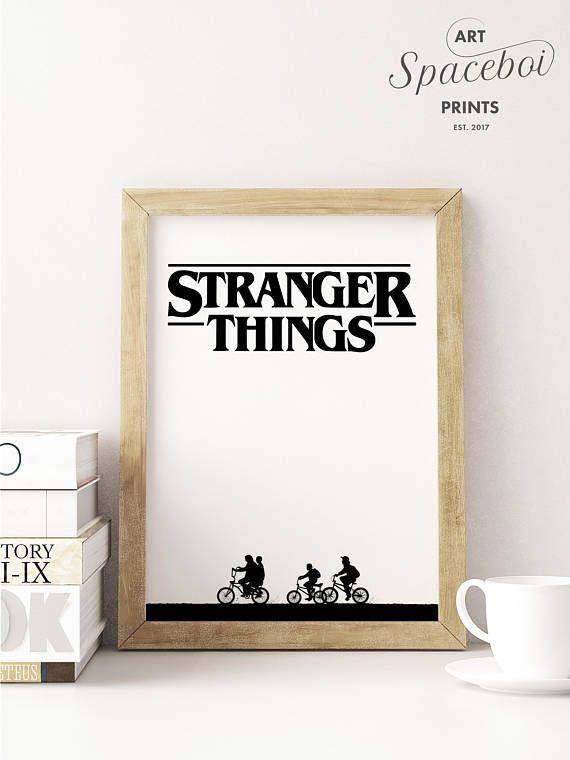 Stranger Things Fan Art PRINTABLE #StrangerThingsPoster #StrangerThings #StrangerThingsPrint #StrangerThingsArt #Netflix #Eleven #Hawkins #TheUpsideDown #Barb #Will #etsyprints #etsyseller #homedecor #homedecorideas #downloadandprint