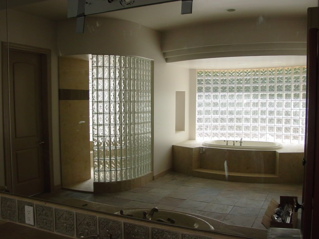 Glass Blocks   Bathroom Designs Using Glass Blocks