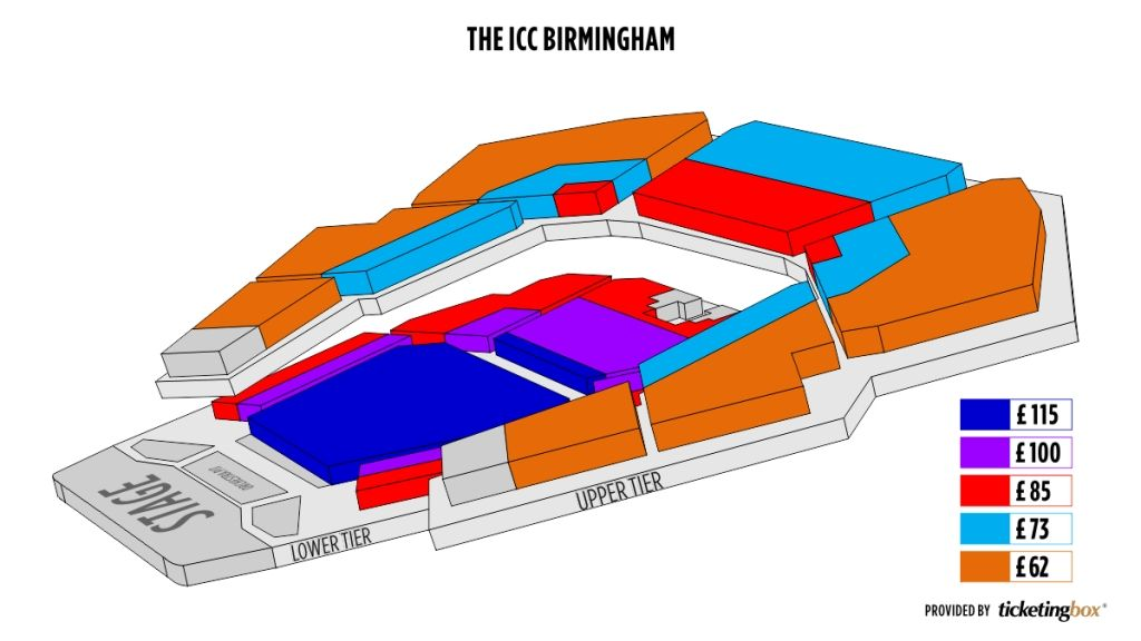 Brilliant Birmingham Symphony Hall Seating Plan