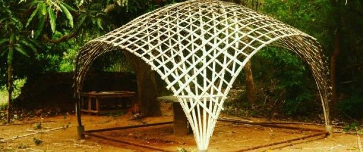 Image Result For Bamboo Dome House Bamboo Building