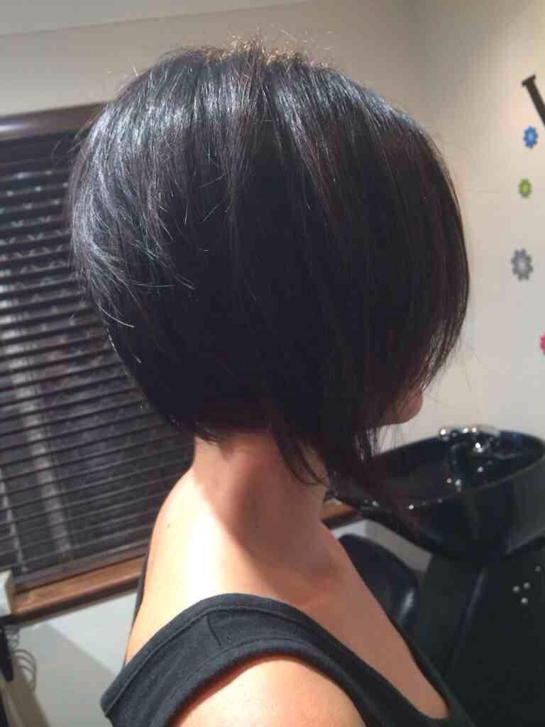 Bob haircuts back view - 57606d1393481759 Inverted Bob Back View Imageuploadedbysalongeek1393481756 778651 Jpg