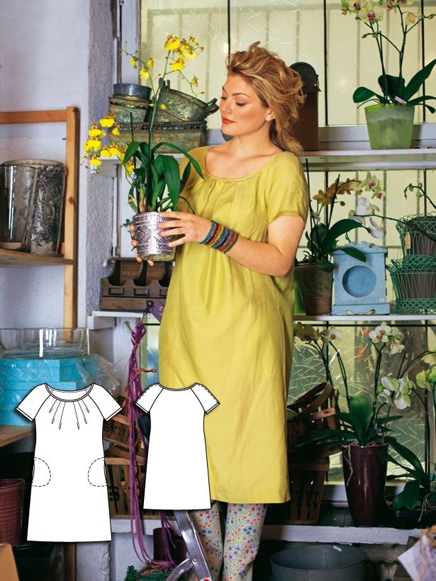 Flower Shop: 8 Plus Size Sewing Patterns | Kreatives nähen, Kleider ...