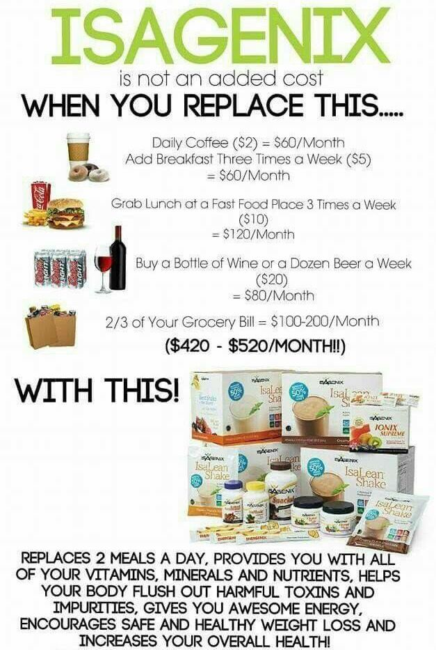 Isagenix is worth it and affordable. Please reach out if you're as  skeptical as I was about this stuff.