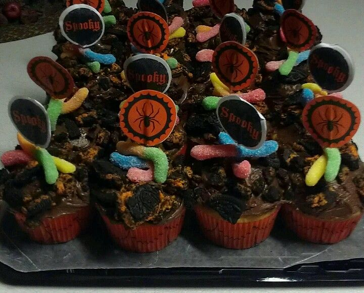 Halloween Cupcakes Easy Fun For School Party Just Crush Halloween