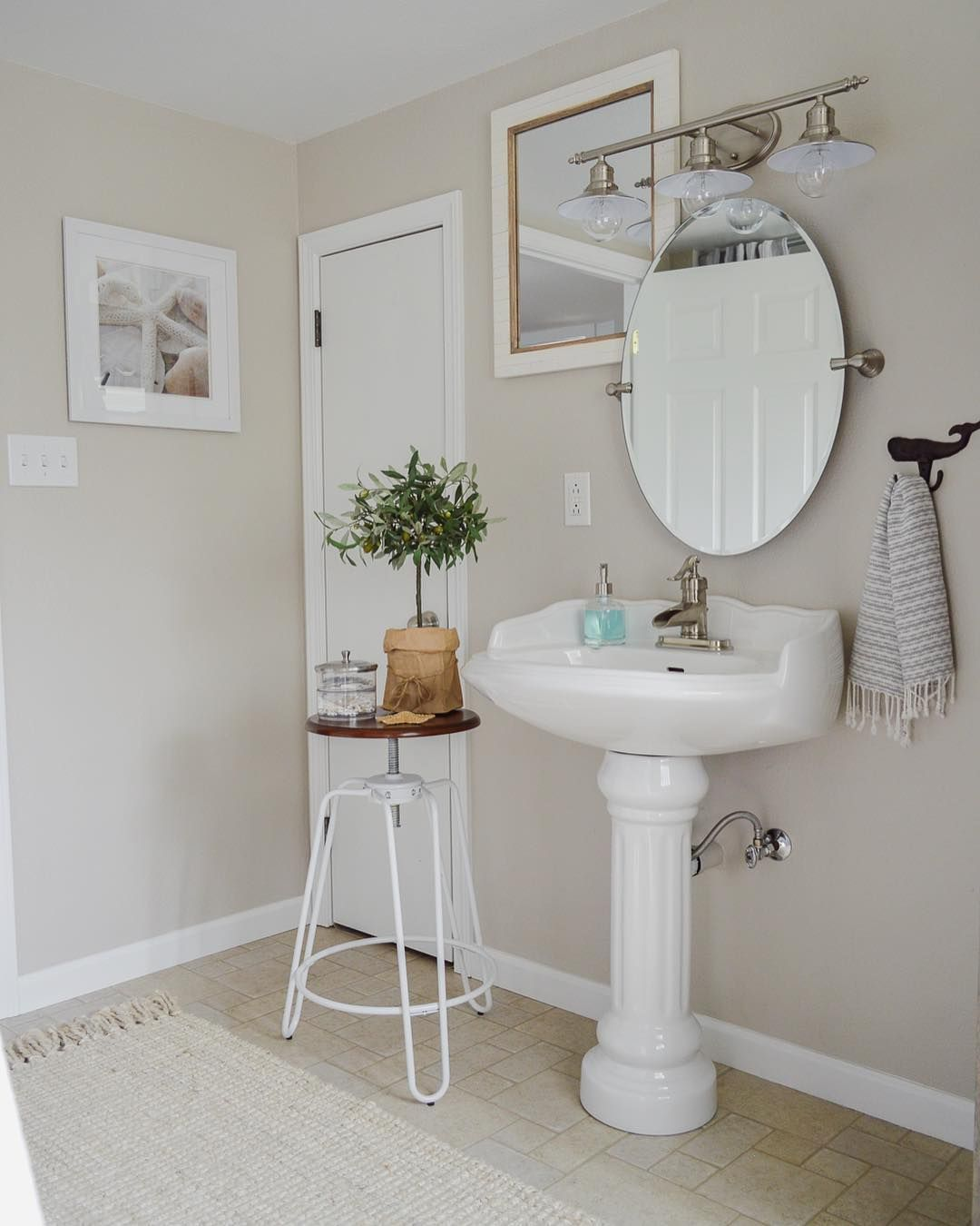 20 Clever Pedestal Sink Storage Design Ideas Sink Storage