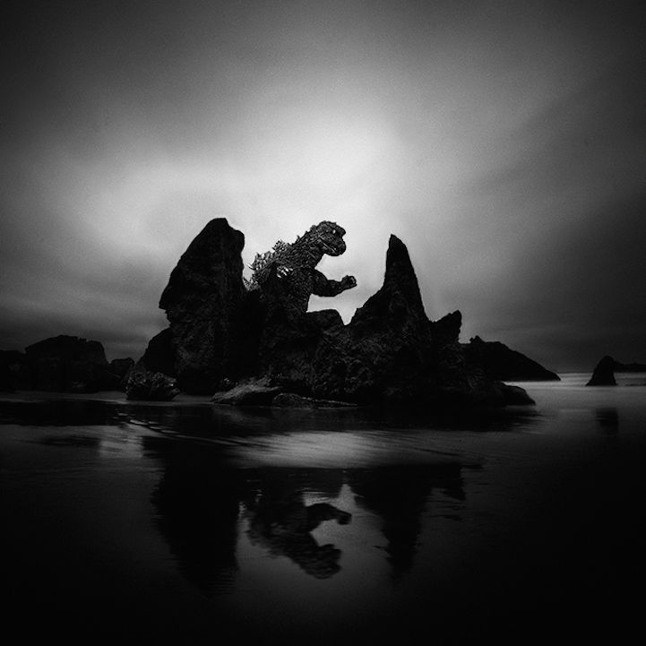 Long exposure seascape photos playfully pay homage to