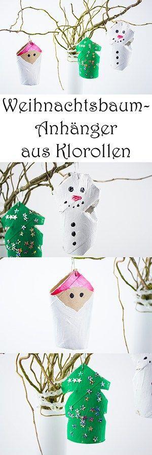 Weihnachtsbaumschmuck basteln: 4 schöne Ideen + Video — Mama Kreativ #christbaumschmuckbastelnkinder