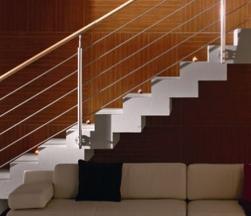 Captivating Home Depot Balusters Interior | ... Stainless Steel Railings Appropriate  For Both Exterior And