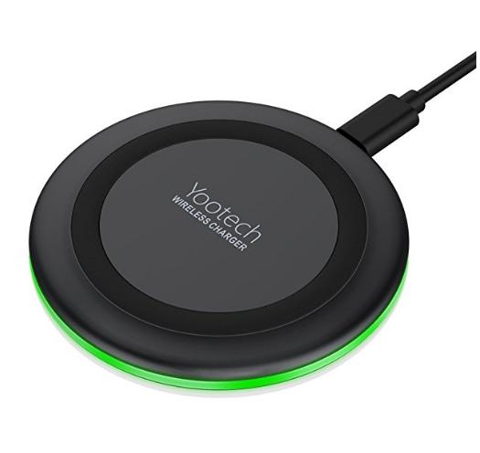 Yootech Wireless Charger Qi Certified 7.5W Wireless Charging