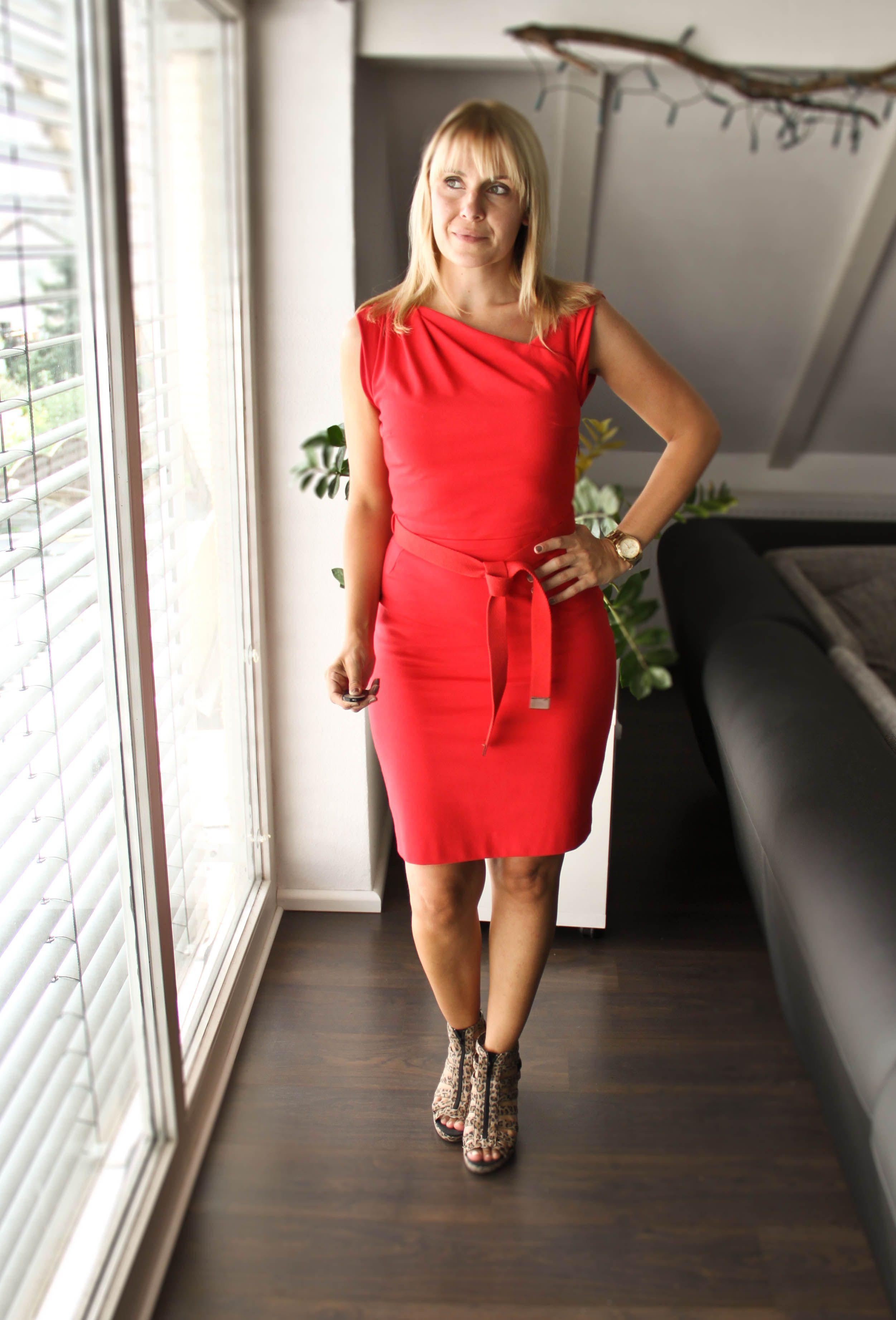 Red Dress. Mango. (mit Bildern)   Rotes kleid, Kleider, Rot
