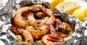 Yes. Shrimp in foil. Campfire pie iron and foil meals via Best Camp Recipes