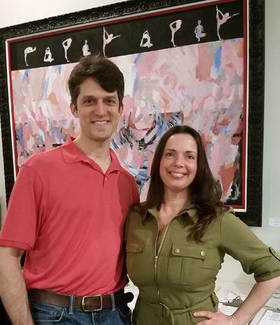 Lora Rosenbaum Owner Of Bikram Yoga Ann Arbor West With Dr Rob Borer Of Borer Family Chiropractic 210 W Mic Family Chiropractic Chiropractic Life Improvement