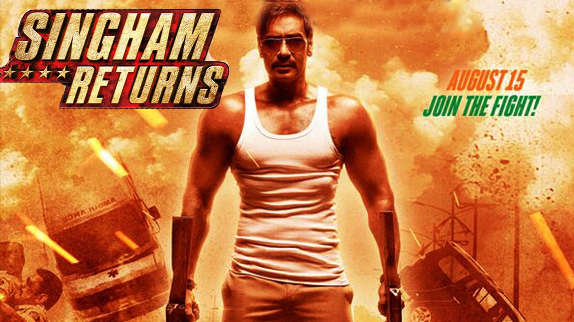 Watch Singham Returns online free with english subtitle