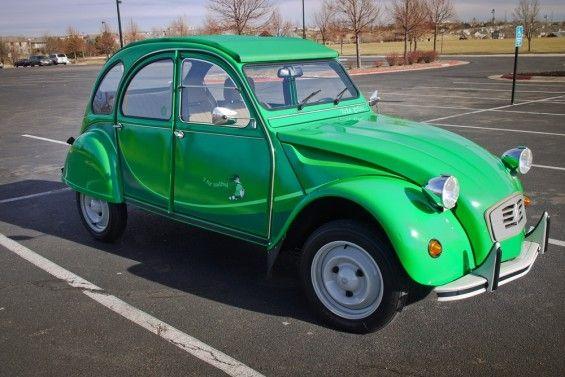 I Fly Bleifrei Citroen 2cv Vert Bamboo Citroen 2cv Citroen Motor Car