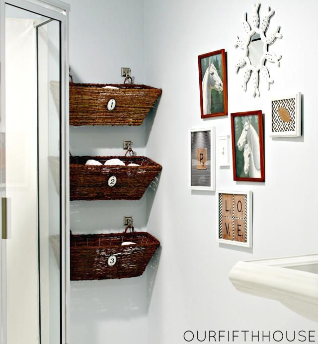 6 Small Bathrooms Ideas That Boost Function and Style: Window Box Bathroom Storage