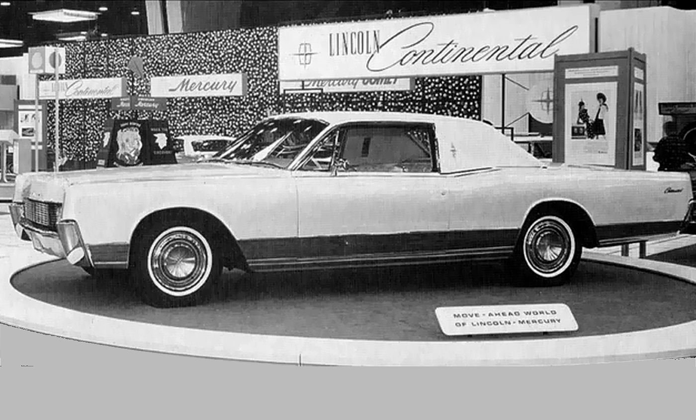 60'S CONCEPT CARS! 1966 LINCOLN CONTINENTAL //www ...