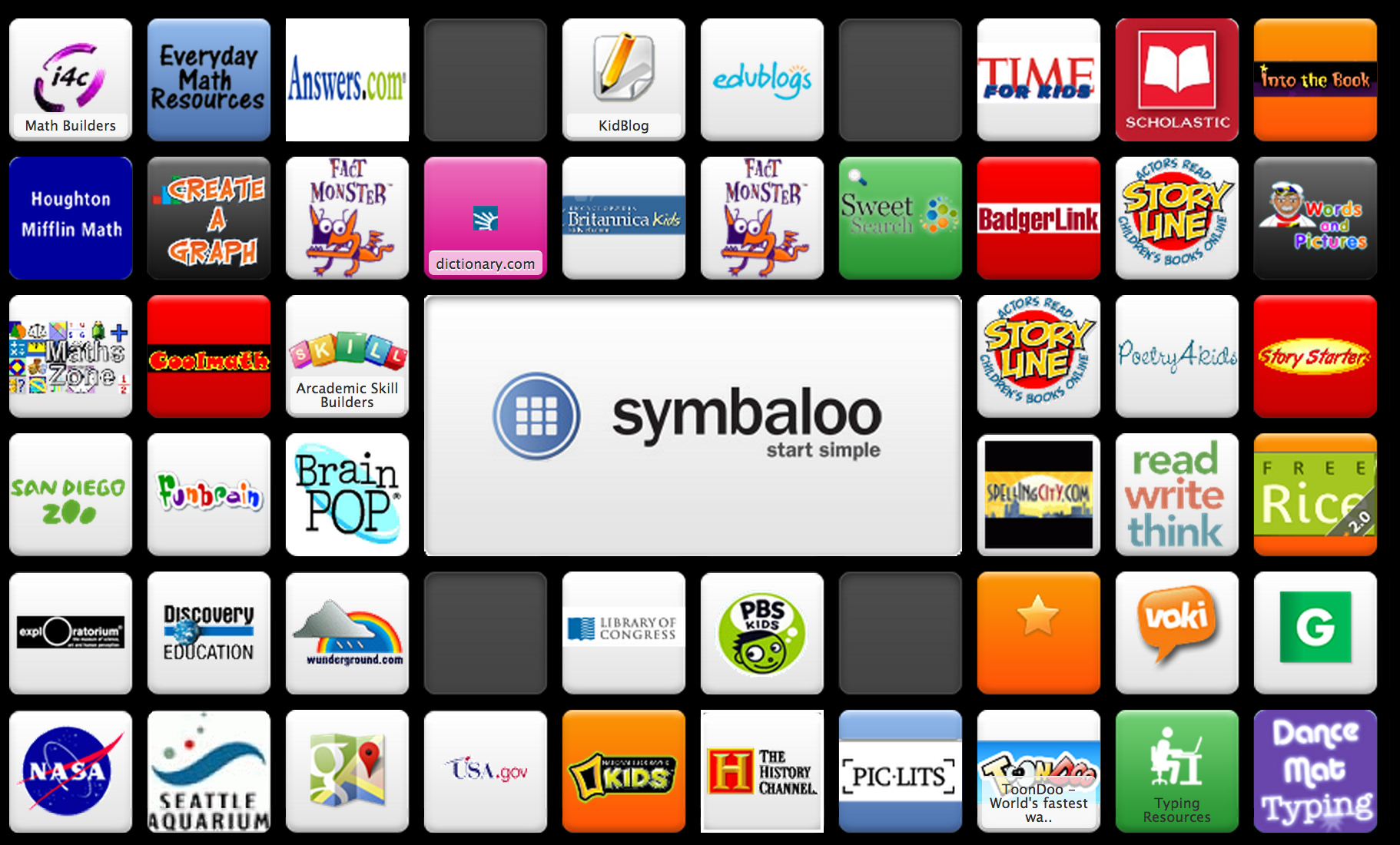 Variety Of Sites And Apps For Fourth Graders To Use At School And At