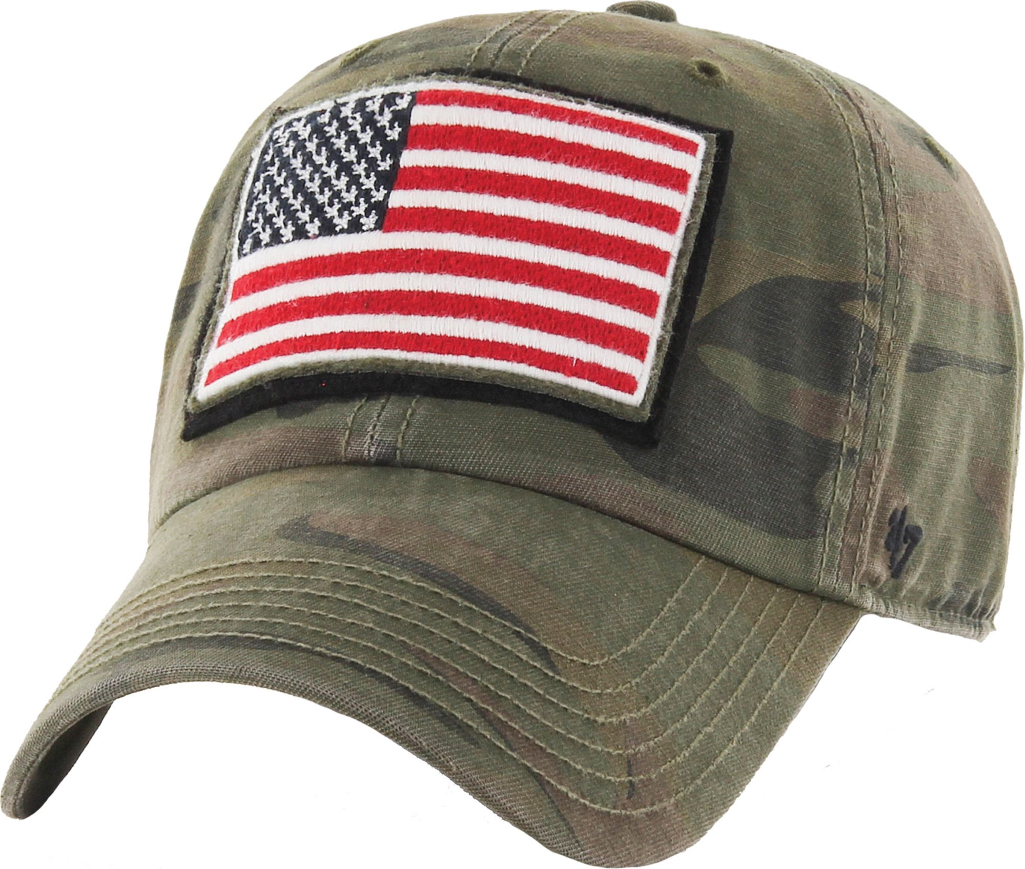 47 Men's USA Operation Hat Trick Camo Movement Clean Up