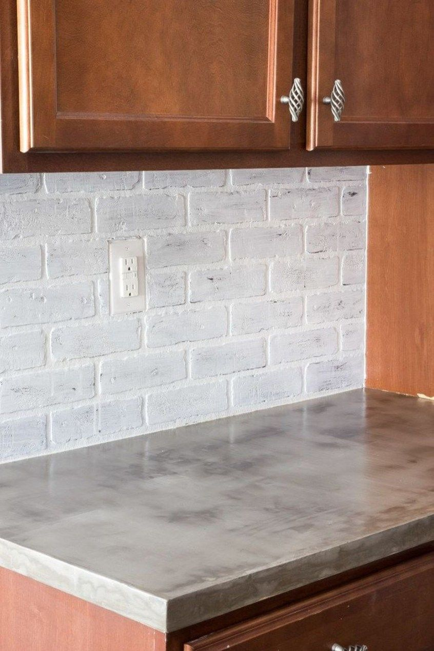 41 Charming Kitchen Concrete Countertop Ideas With Images Diy