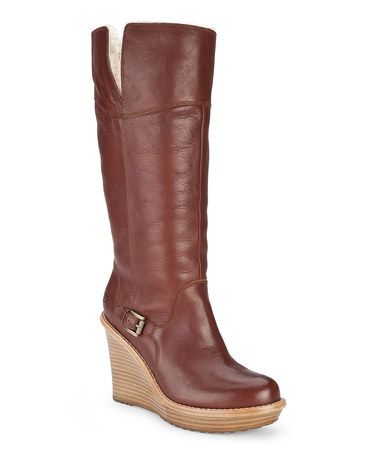 fe9c2e39800 Love this Chestnut Sidonie Boot - Women by UGG® Australia on #zulily ...