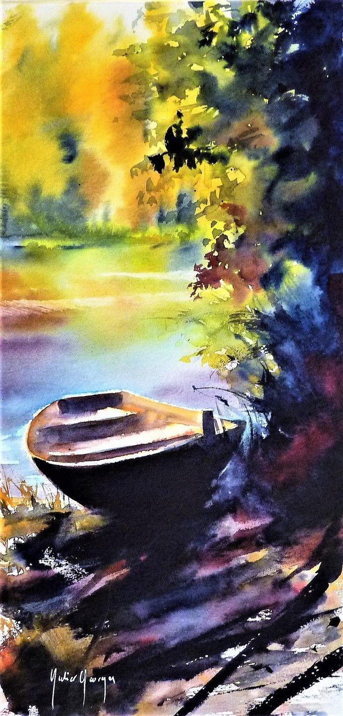 Watercolor Aquarelle De Didier Georges Aquarelle Peinture