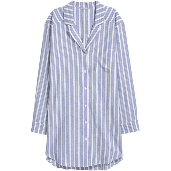 41310938cf Flannel Nightshirt  24.99 (31 CAD) ❤ liked on Polyvore featuring intimates