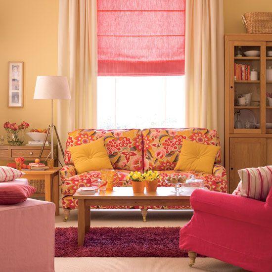 Farben Rosa Gelb Wohnzimmer Krokusse Frhling