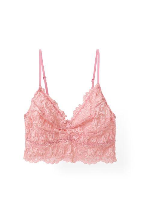 31af9df308 GANNI Lingerie Cherry Lace Bra Peony | ☆ // dream closet.