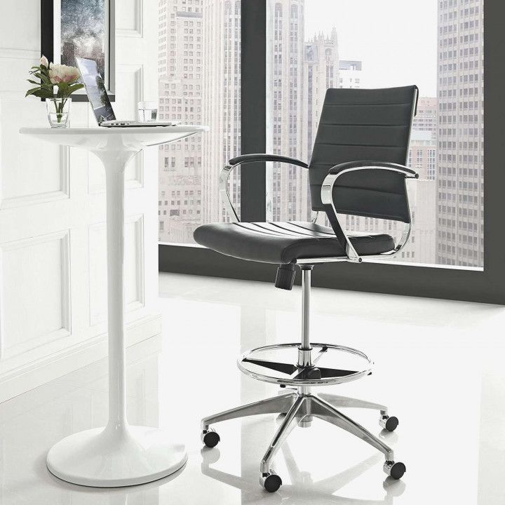 Charmant Tall Chair For Standing Desk   Space Saving Desk Ideas