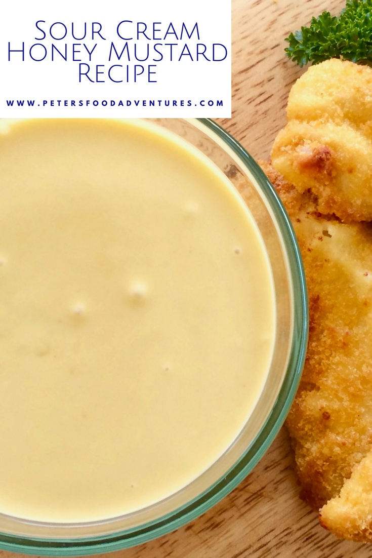 I Could Drink This Stuff A Delicious Homemade Creamy Honey Mustard Sauce Recipe With Mayo Hon Homemade Honey Mustard Sour Cream Recipes Honey Mustard Recipes