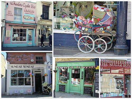 les petits shops de Whitstable