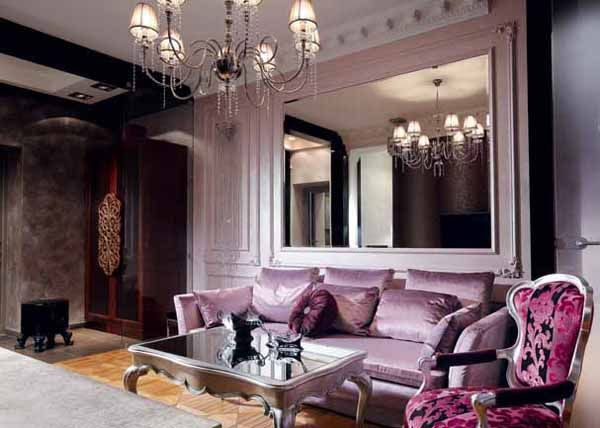 Amazing Silver Living Room Designs Purple And Silver Living Room