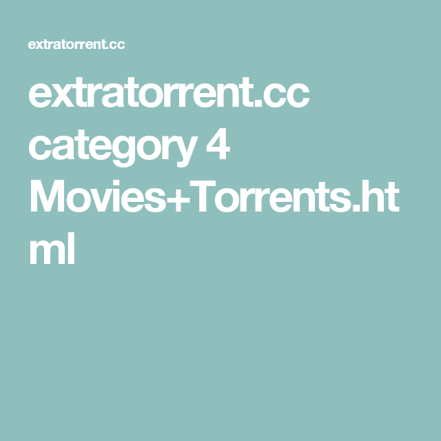 extratorrents english movies in hindi 2017