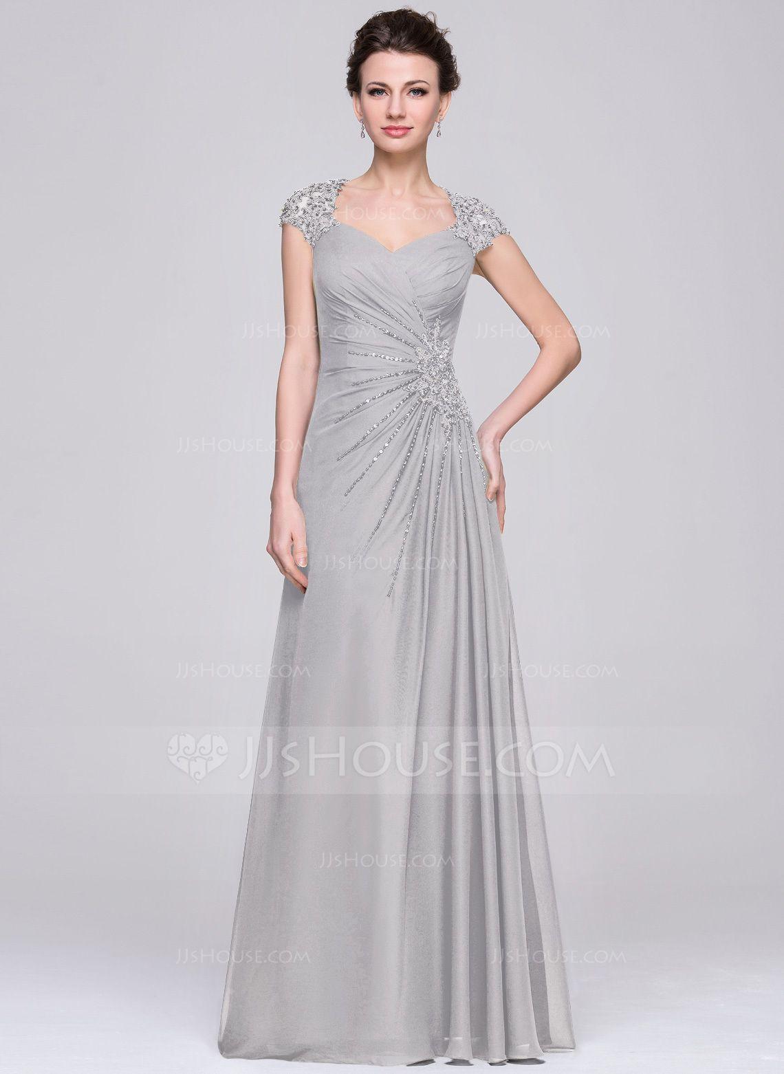 Mother dresses for a beach wedding  ALinePrincess Sweetheart FloorLength Chiffon Mother of the Bride