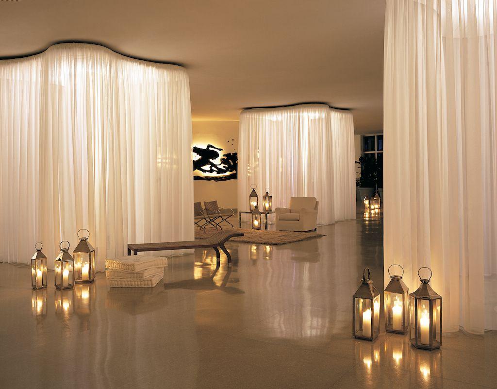 Ultra Modern Minimalist Hotel Lobby Trendy Shore