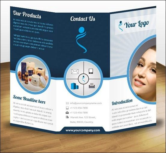 60 Beautiful Tri Fold Brochure Designs And Premium Brochure