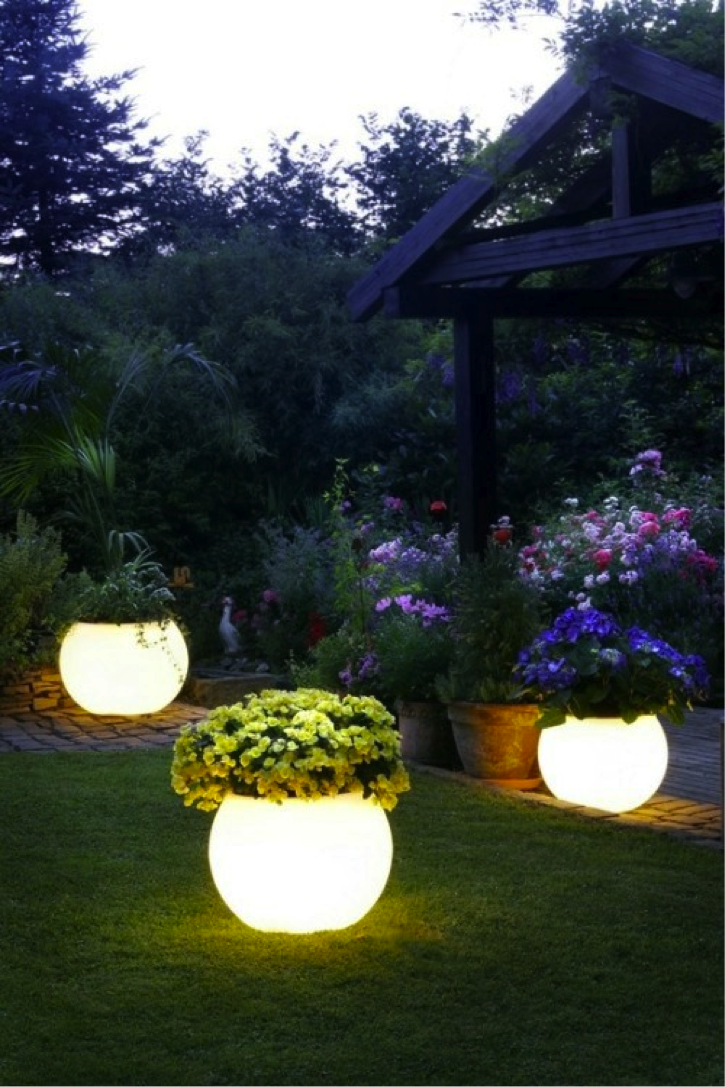 glow in the dark pots love this idea all you need is a pot your