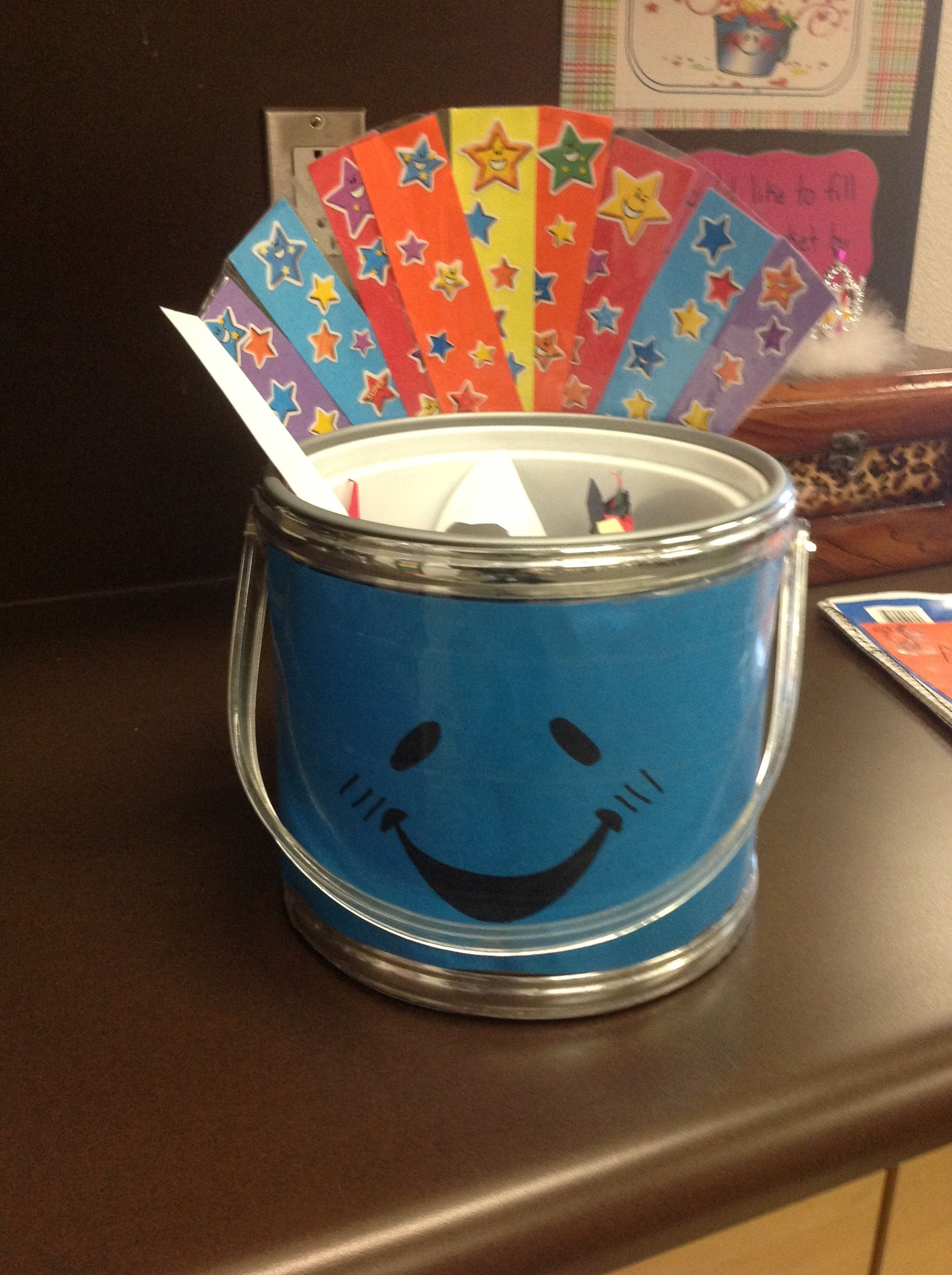 Class Bucket For Compliments And Appreciations Class