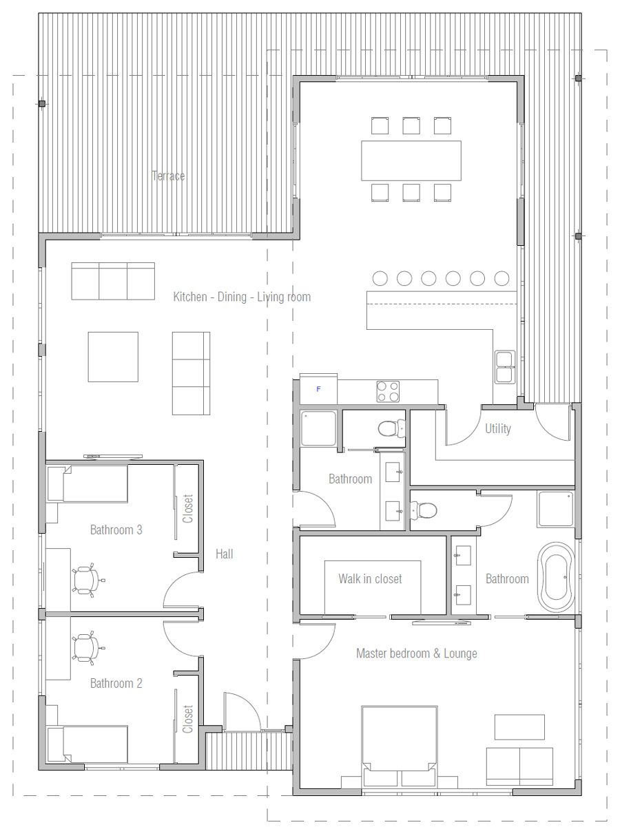 I Really Really Love This Plan Would Maybe Add A Den And Office At Back Or Between Living Room Cottage Style House Plans Model House Plan Family House Plans