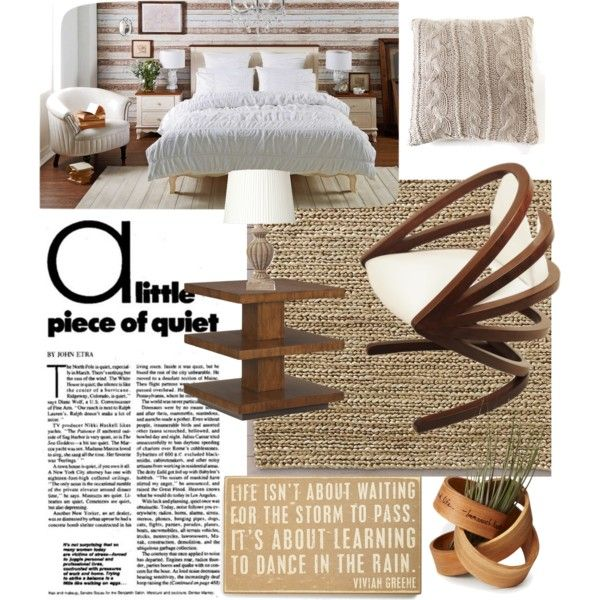 Silence by chanlee-luv on Polyvore featuring polyvore interior interiors interior design home home decor interior decorating OKA Restoration Hardware Pom Pom at Home Primitives By Kathy