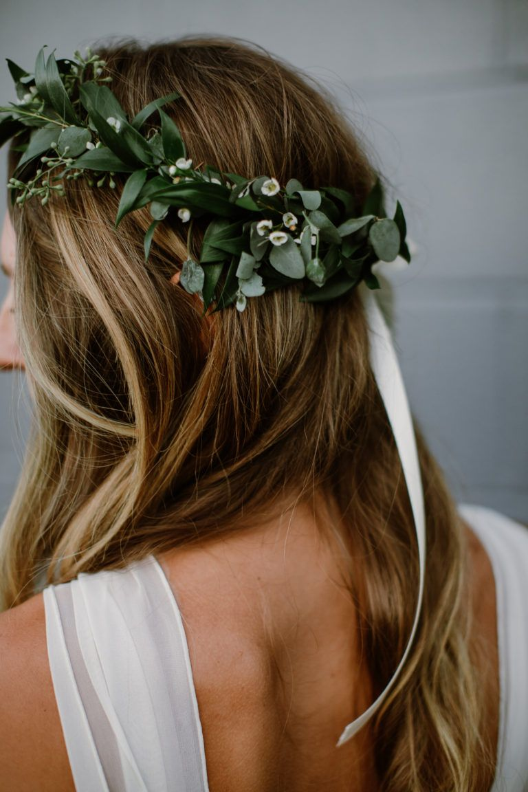 Boho Wedding Crown Flower Girl Crown Headpiece Bohemian Floral Hair Wreath Headband Women Hair Piece Wedding Hair Accessories