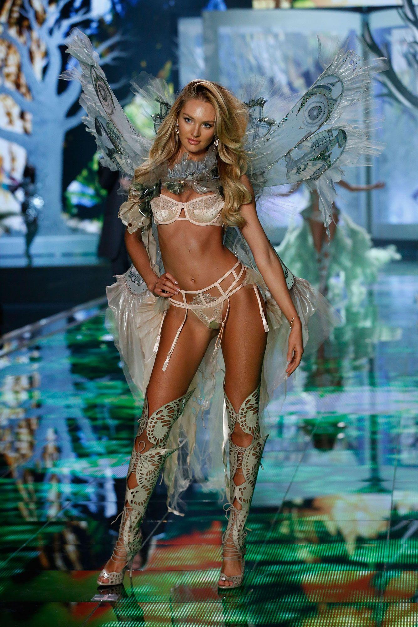 5260ac7b90b Victoria s Secret Fashion Show 2014 - Candice Swanepoel walks in the 2014 Victoria s  Secret Fashion Show