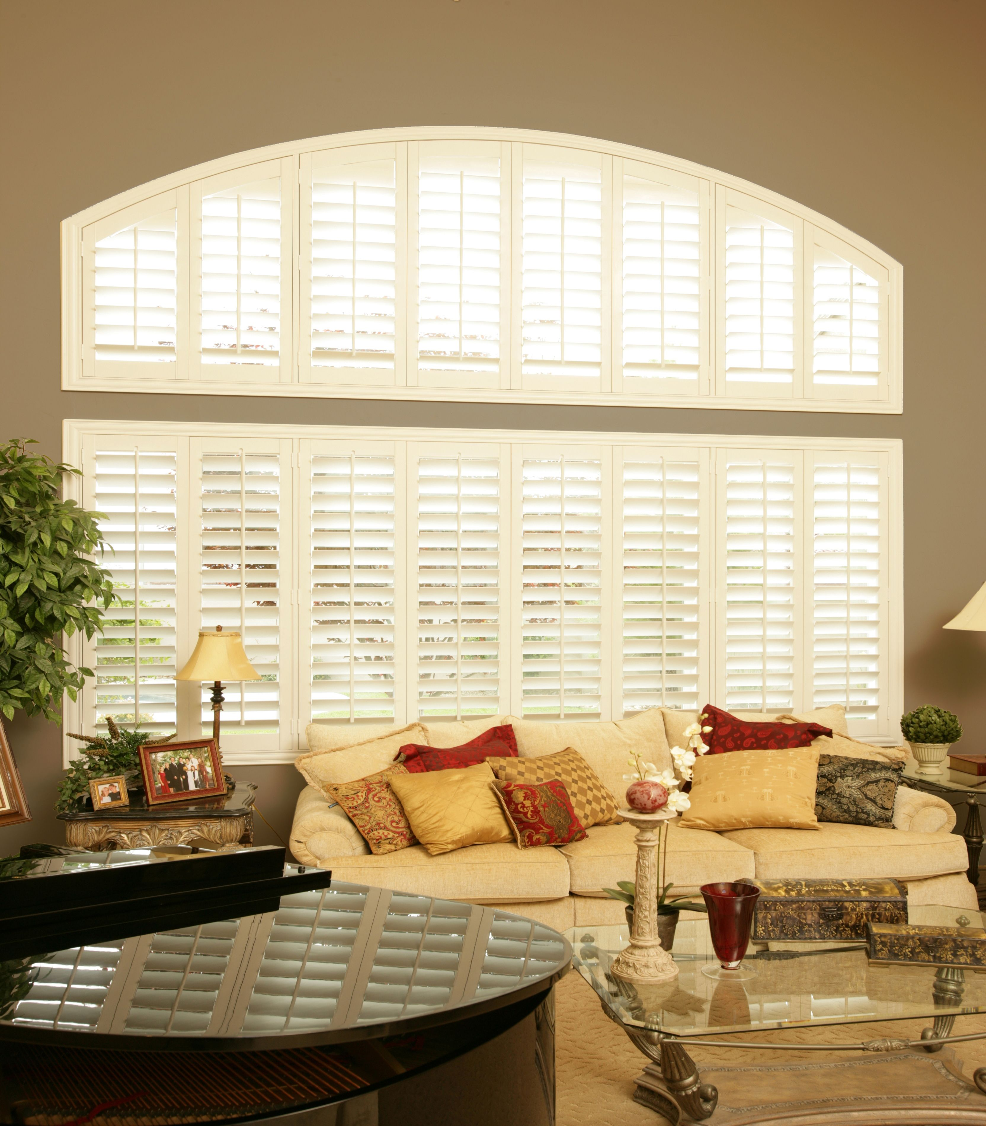 Product Page (With images) Sunburst shutters, Custom