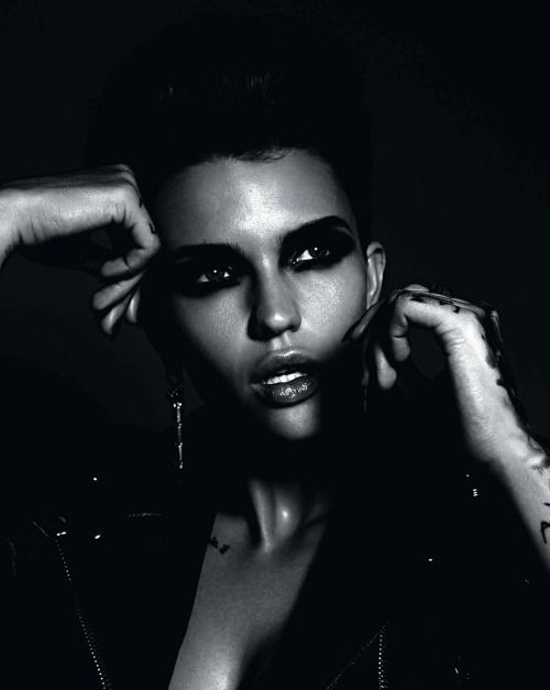 Ruby Rose, by Todd Barry for GQ