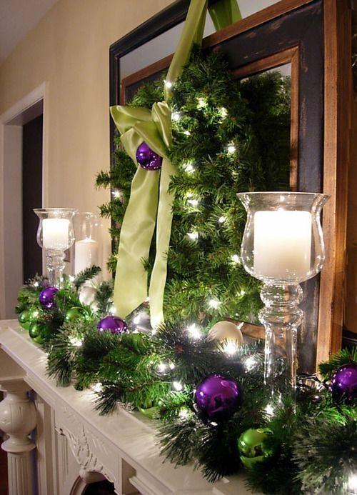 Christmas Mantel Decorating Ideas by Anu Leppänen Christmas tree