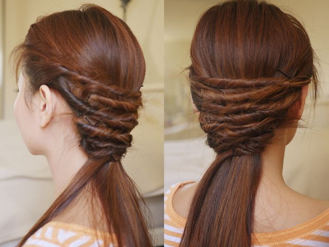 Quick and Easy Hair Twist