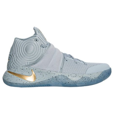 Nike Kyrie 2 EP II Irving Cavs Playoffs PE Navy Gold Mens