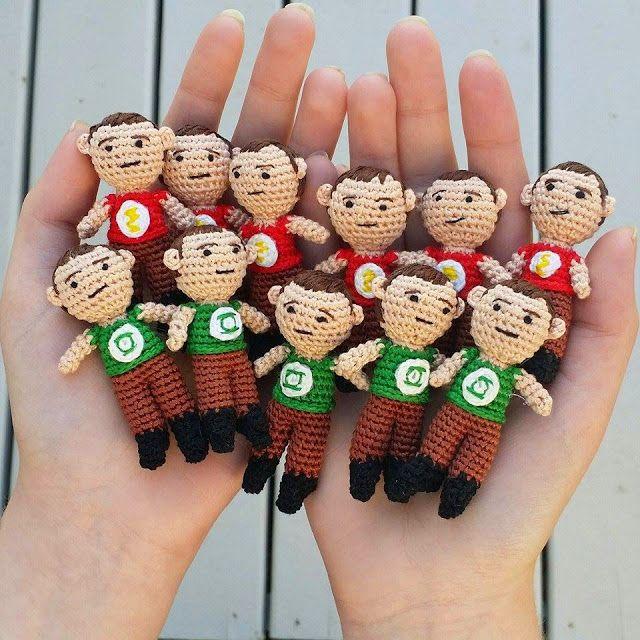 A[mi]dorable Crochet: Micro Sheldon Pattern | Amigurumi / DIY Toys ...